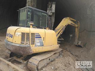 挖机辛酸路与小松56-7使用报告