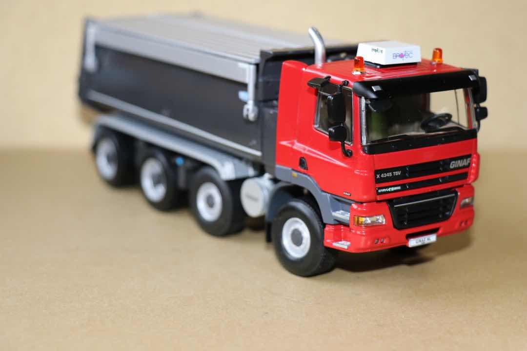 """机械小白玩模型(17)你没见过的高端自卸车  带你了解荷兰""""造车老兵""""吉纳福"""