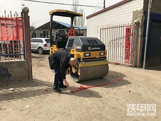 【迟到的提车作业】老板喜提小可爱 柳工6032E压路机