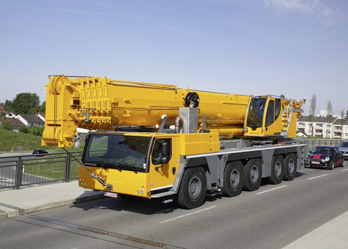 你绝对没见过的:利勃海尔LTM 1250-5.1起重机