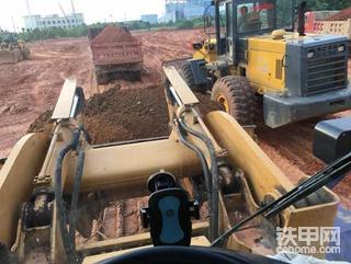 龙工850之八台铲车一起玩土方 龙工850D高温