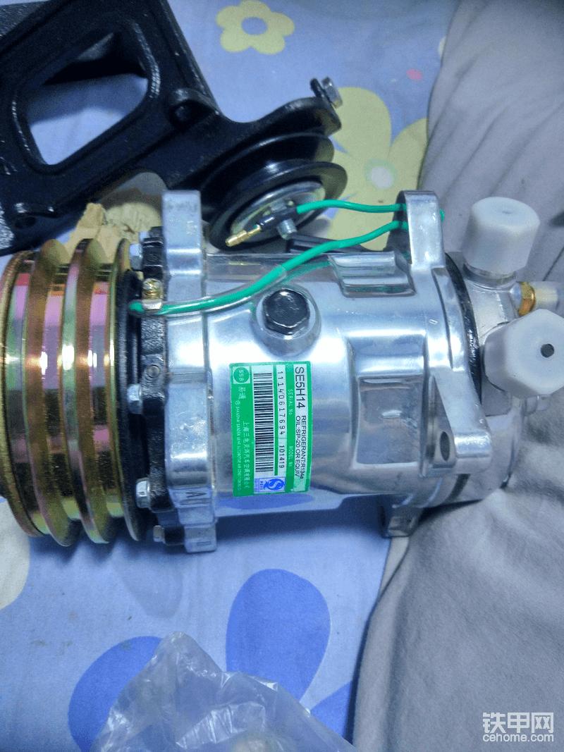 上海三电的压缩机 也是有名的牌子 308不贵