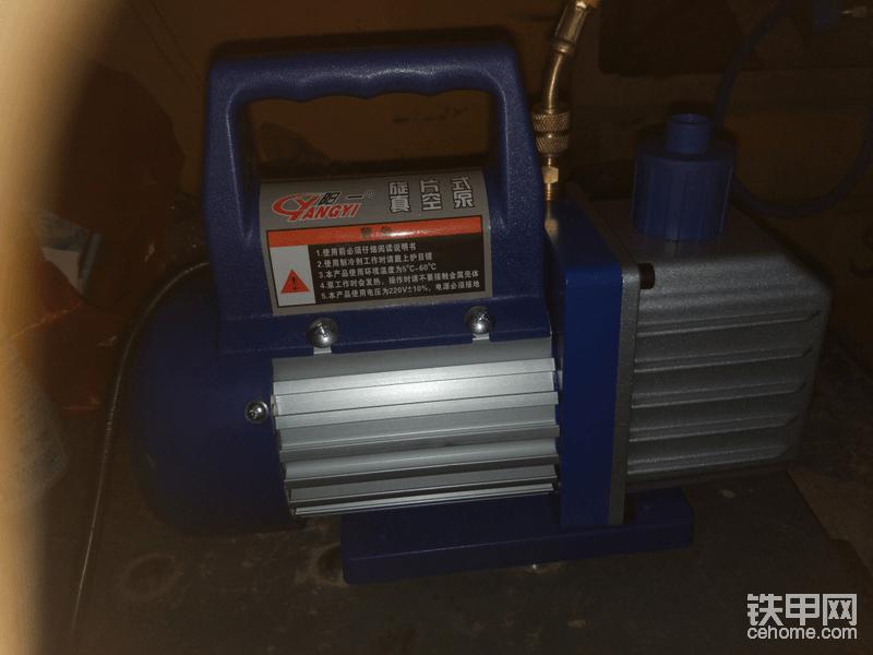 真空泵200多一点 不贵 以后拆装空调都能用到