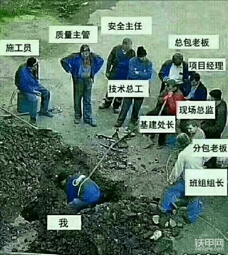 开挖掘机的你,到底活的开不开心?