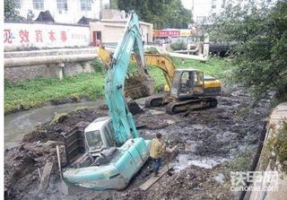 12年前水淹挖机的经历