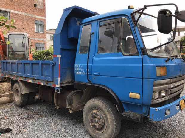 转让个人自卸车可当挖机拖车用