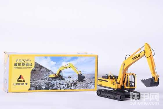 山东临工挖掘机模型
