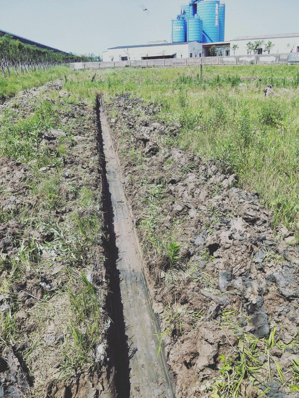 【印象最深的施工事故】被泥浆吞噬的挖掘机