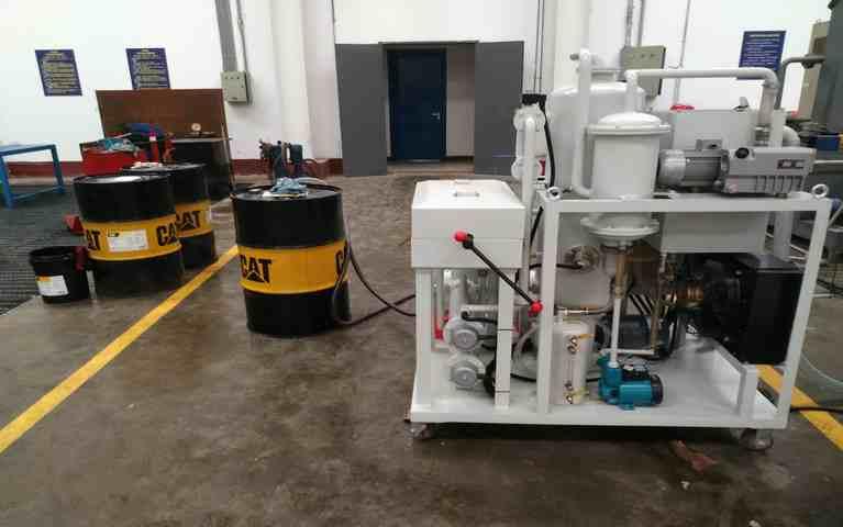 小规模液体油品进水乳化处理工艺
