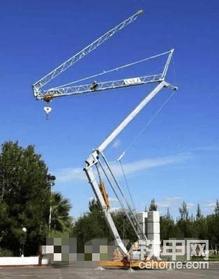 海外靓机:可折叠SAEZ H24塔吊