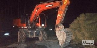 【设备对比】斗山150w-9c轮挖vs现代150vs轮挖