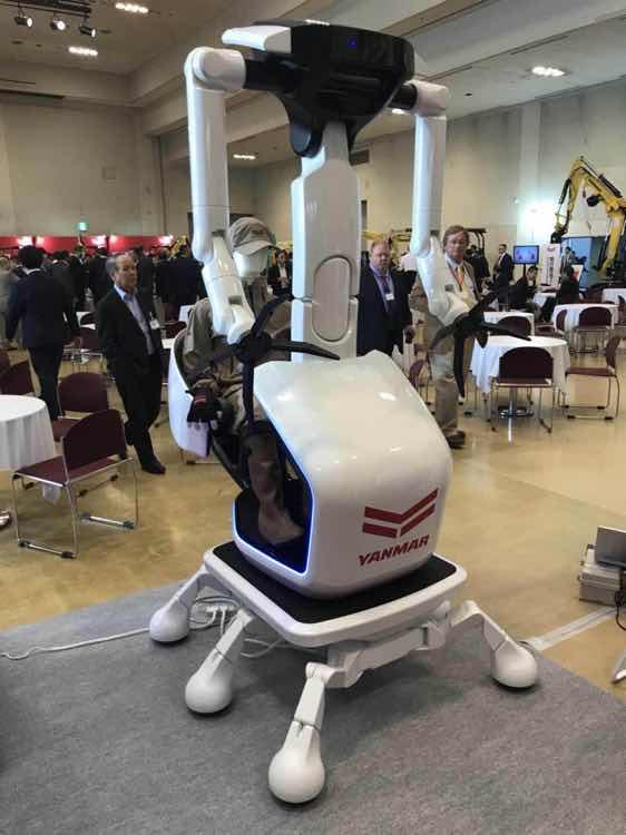 洋马自动驾驶挖掘机(2035年)