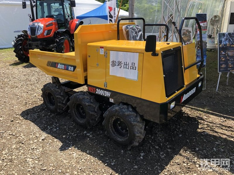 MST200VDW轮式自卸车