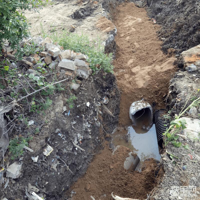 农村污水雨水管道