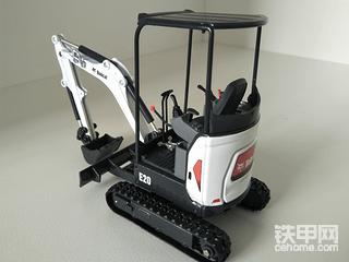 【模型帖】聊聊我的山猫小挖机模型