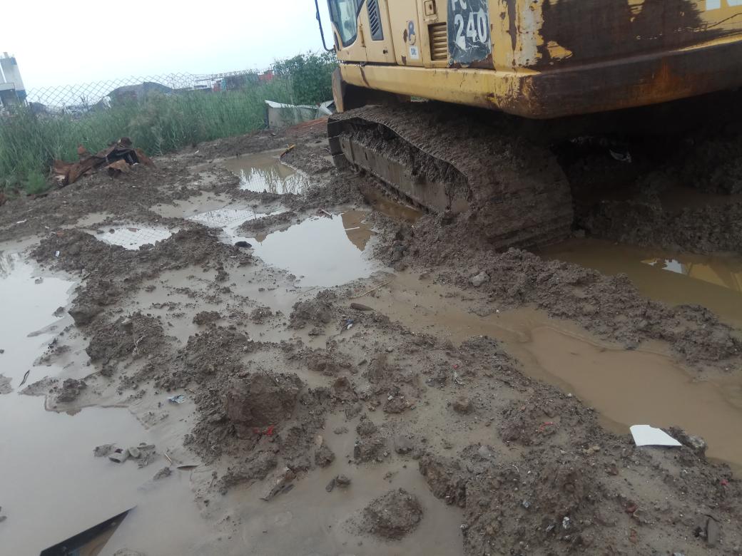 挖掘机雨季工作小提示!