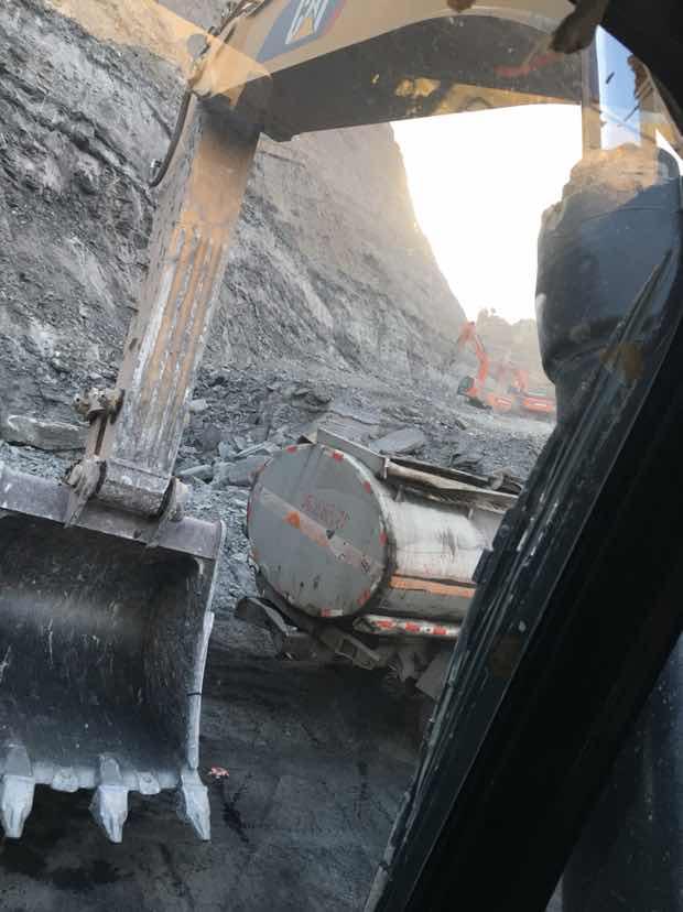 煤矿停了,没活干了
