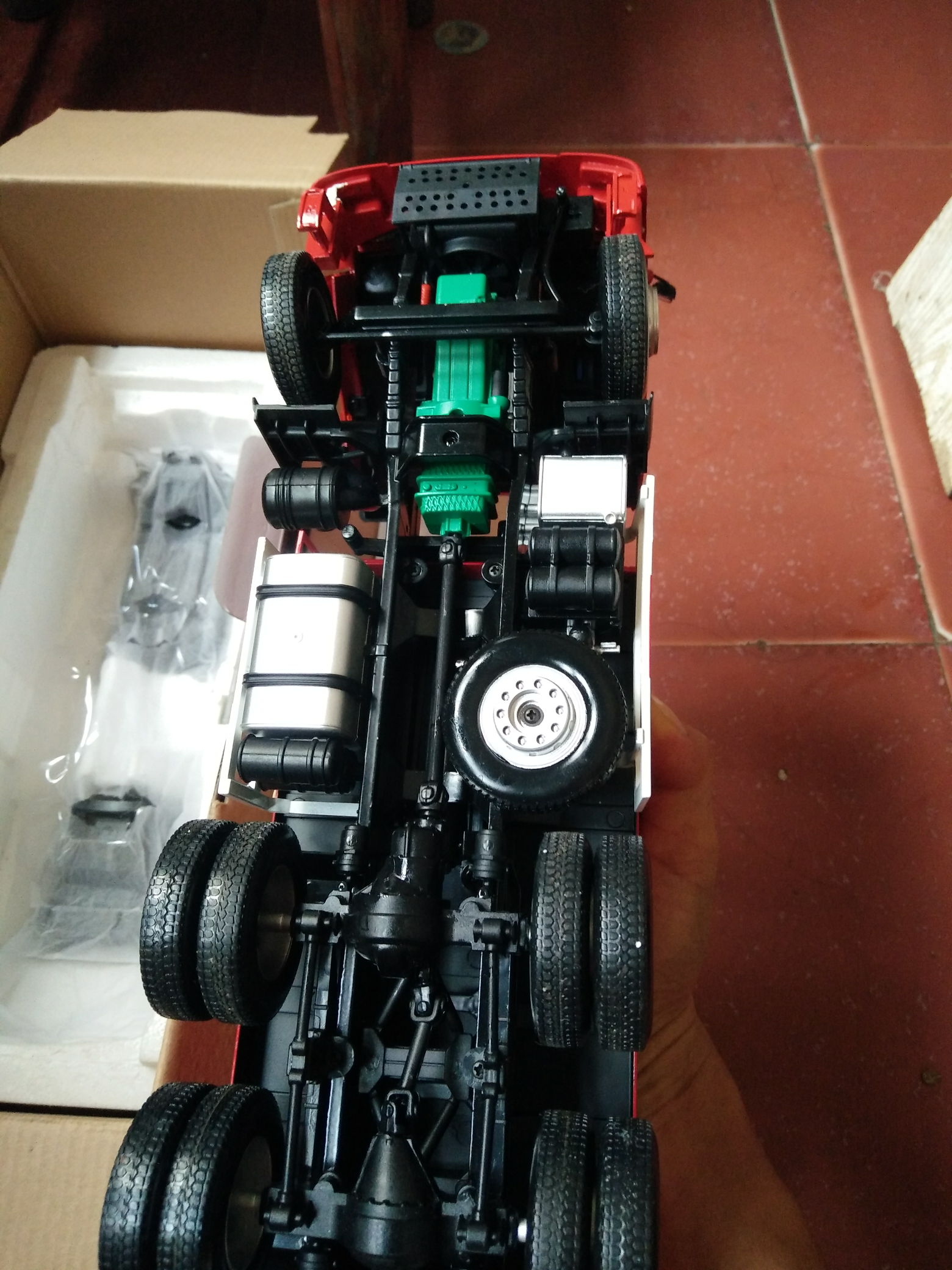 解放J6模型