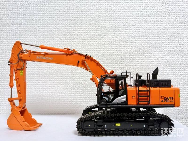 小松、日立、卡特彼勒、神钢液压挖掘机模型1/50