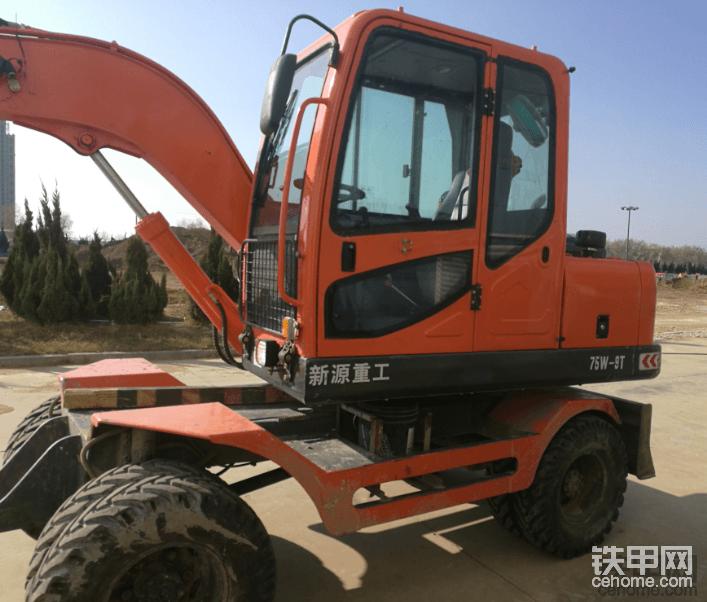 新源75W輪式挖掘機使用報告-帖子圖片