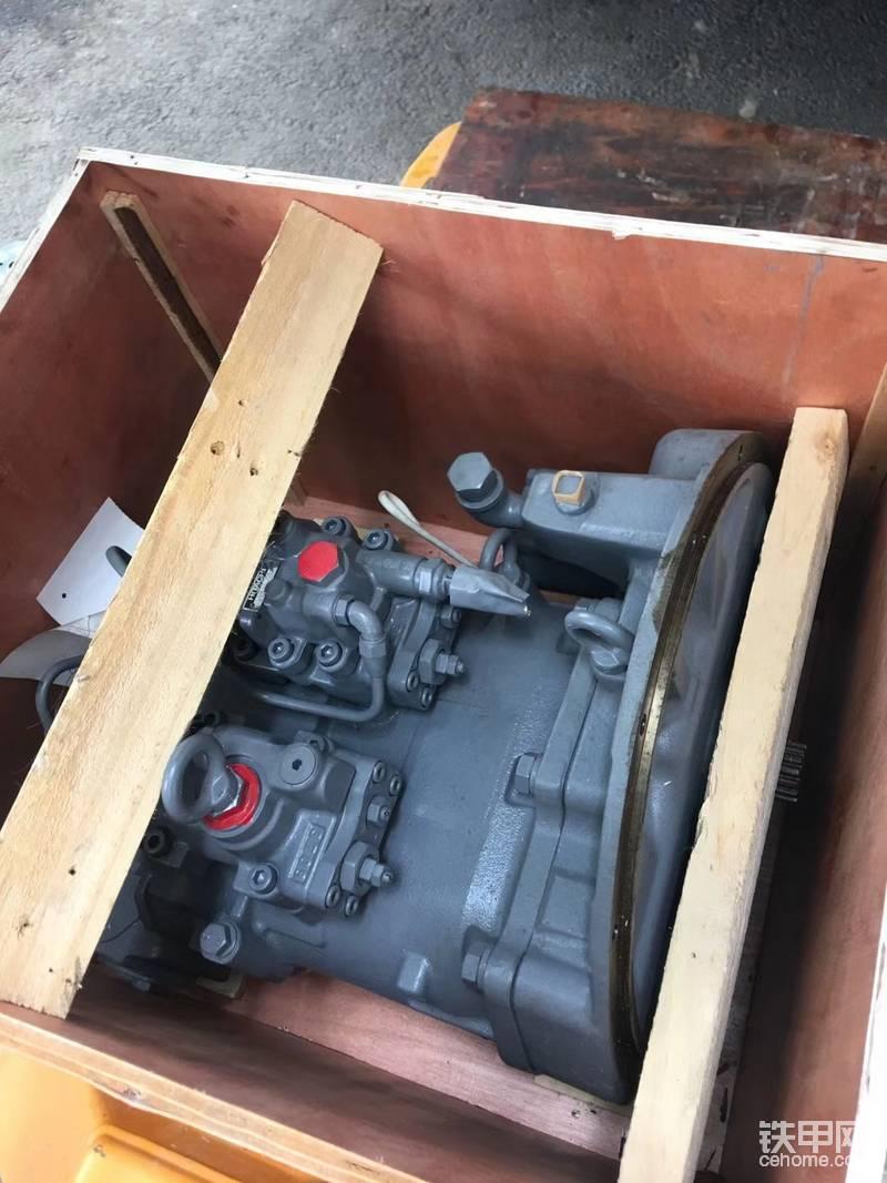 非专业角度解释挖掘机改泵