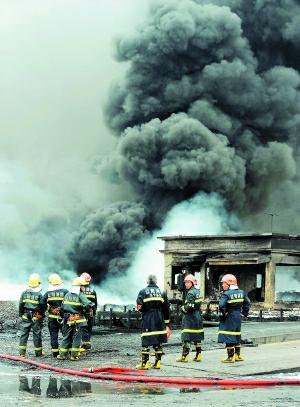 【印象最深刻的救援经历】7-16大连输油管道爆炸事故