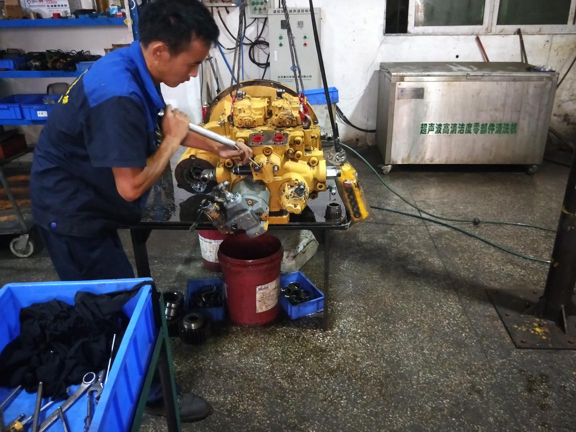 C A T 336液压泵拆解全过程,多图!深度解读!
