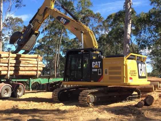 卡特330FL挖掘机,最新一代,在美国