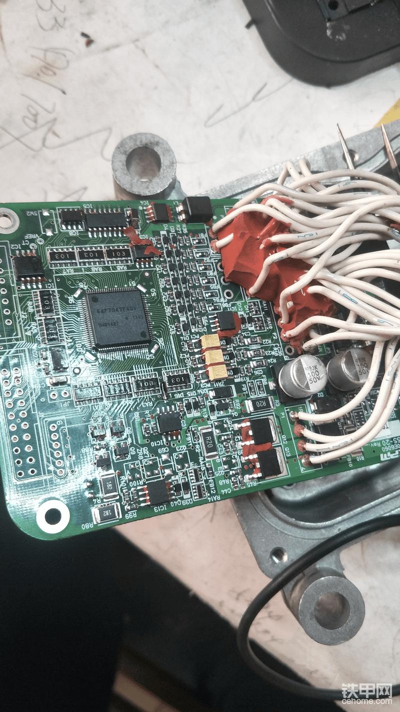 厦工电脑版仪表盘维修