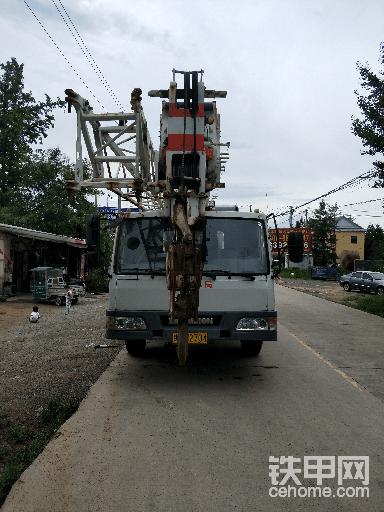 16吨吊车工作3000小时