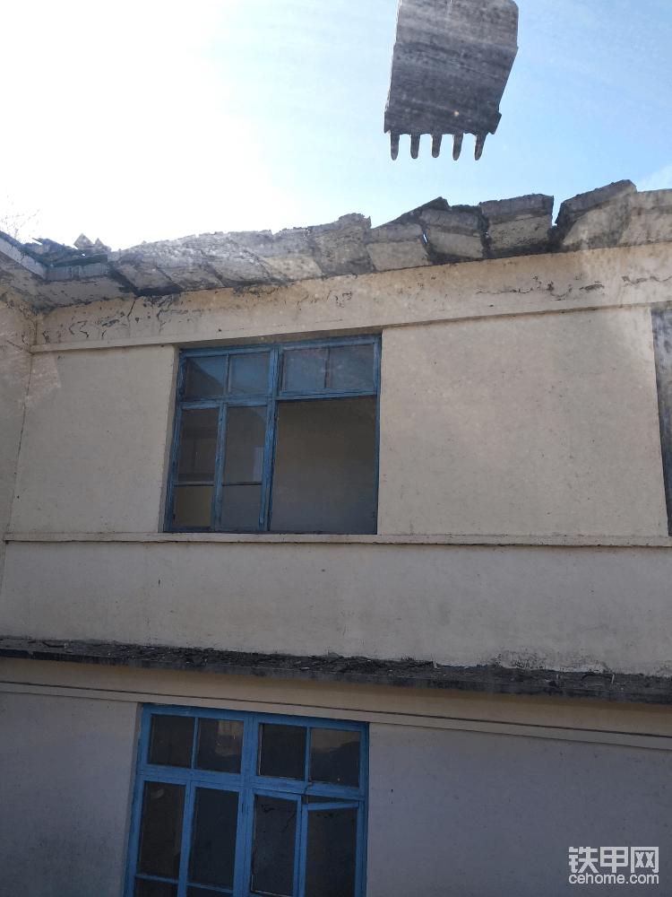 【工程记事】巧拆二层小楼