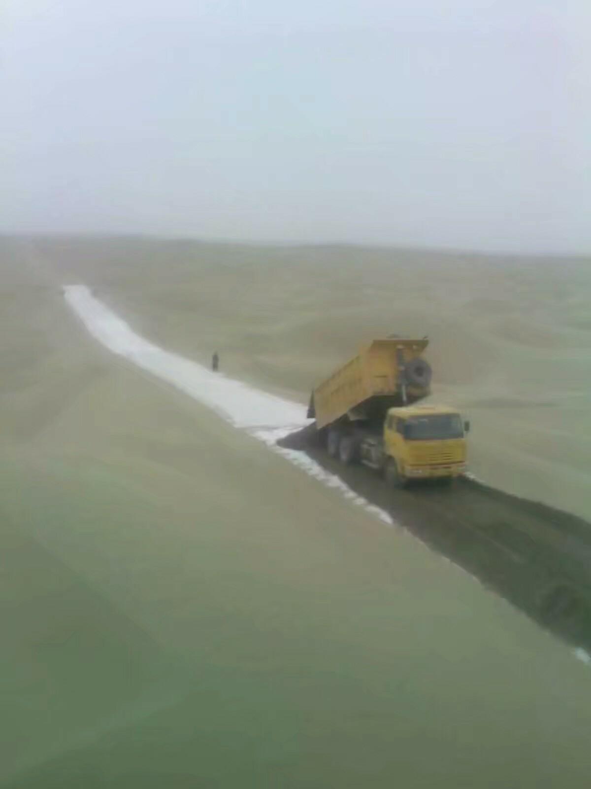 【印象最深的打工经历】塔克拉玛干沙漠修路