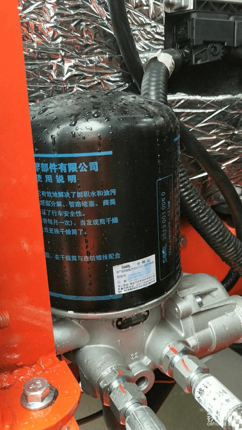 空气干燥器,这个是标配,都是名牌货