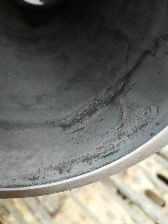 1500小时313D2GC机油滤芯内壁坏了