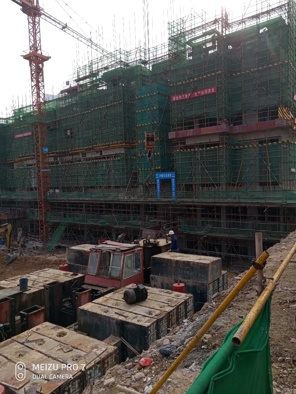 百吨吊车吊十五吨边桩器