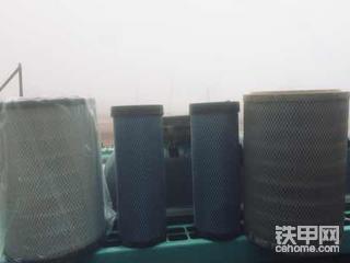 【神刚挖机空气滤芯和空调滤芯保养心得】