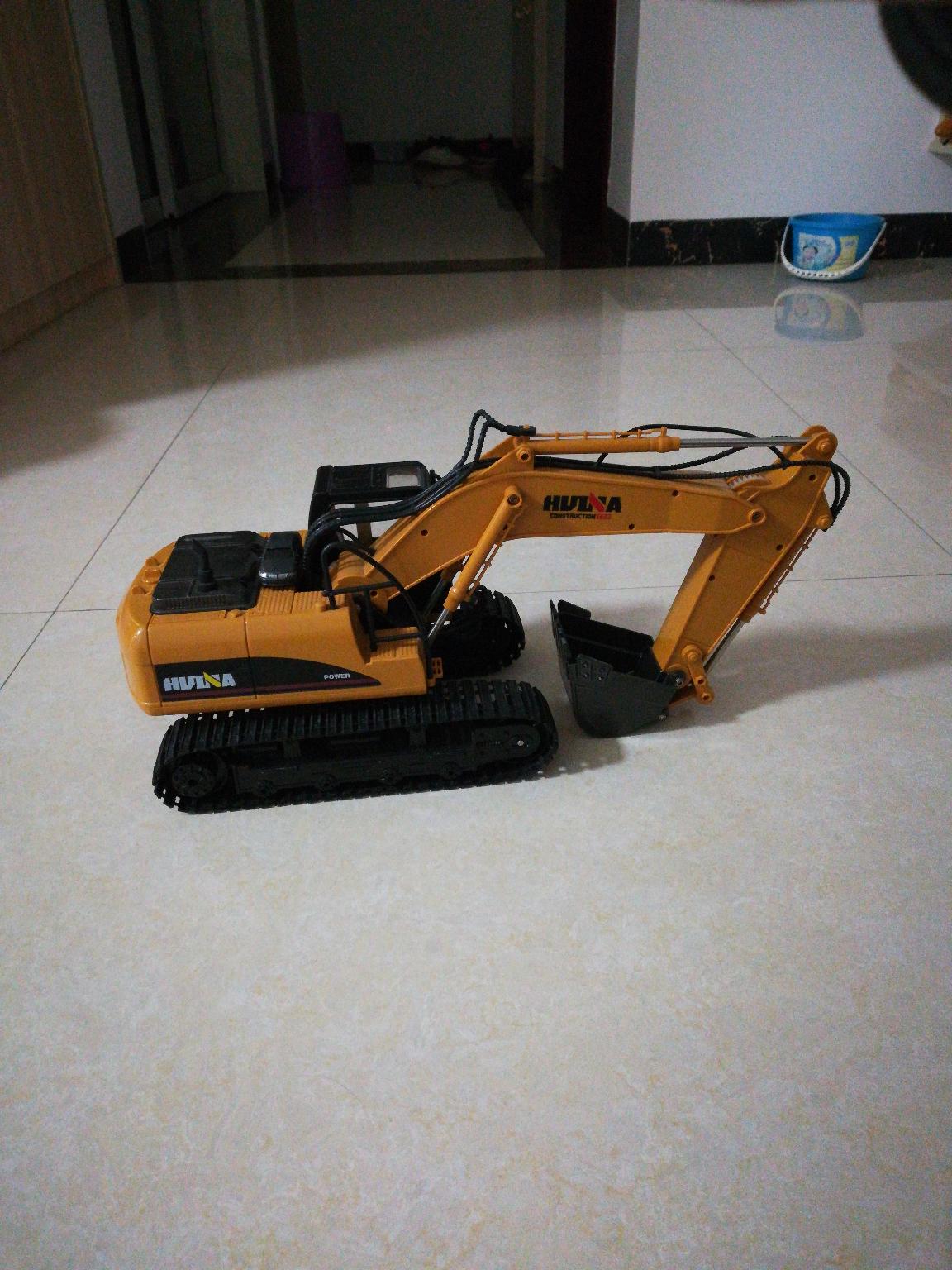 我的遥控挖机