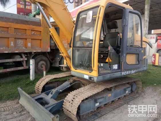 玉柴85挖掘機-帖子圖片