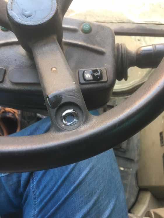 方向机不准,无奈拆了方向盘助力球