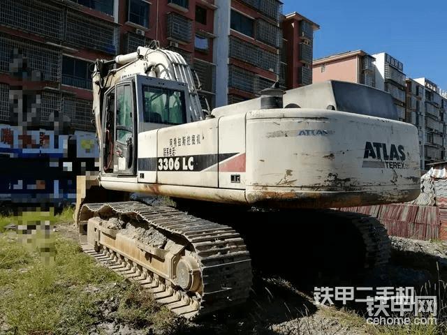 阿特拉斯3306挖掘机