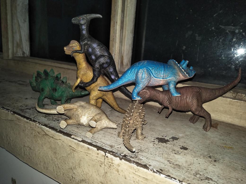 儿子眼中的恐龙世界