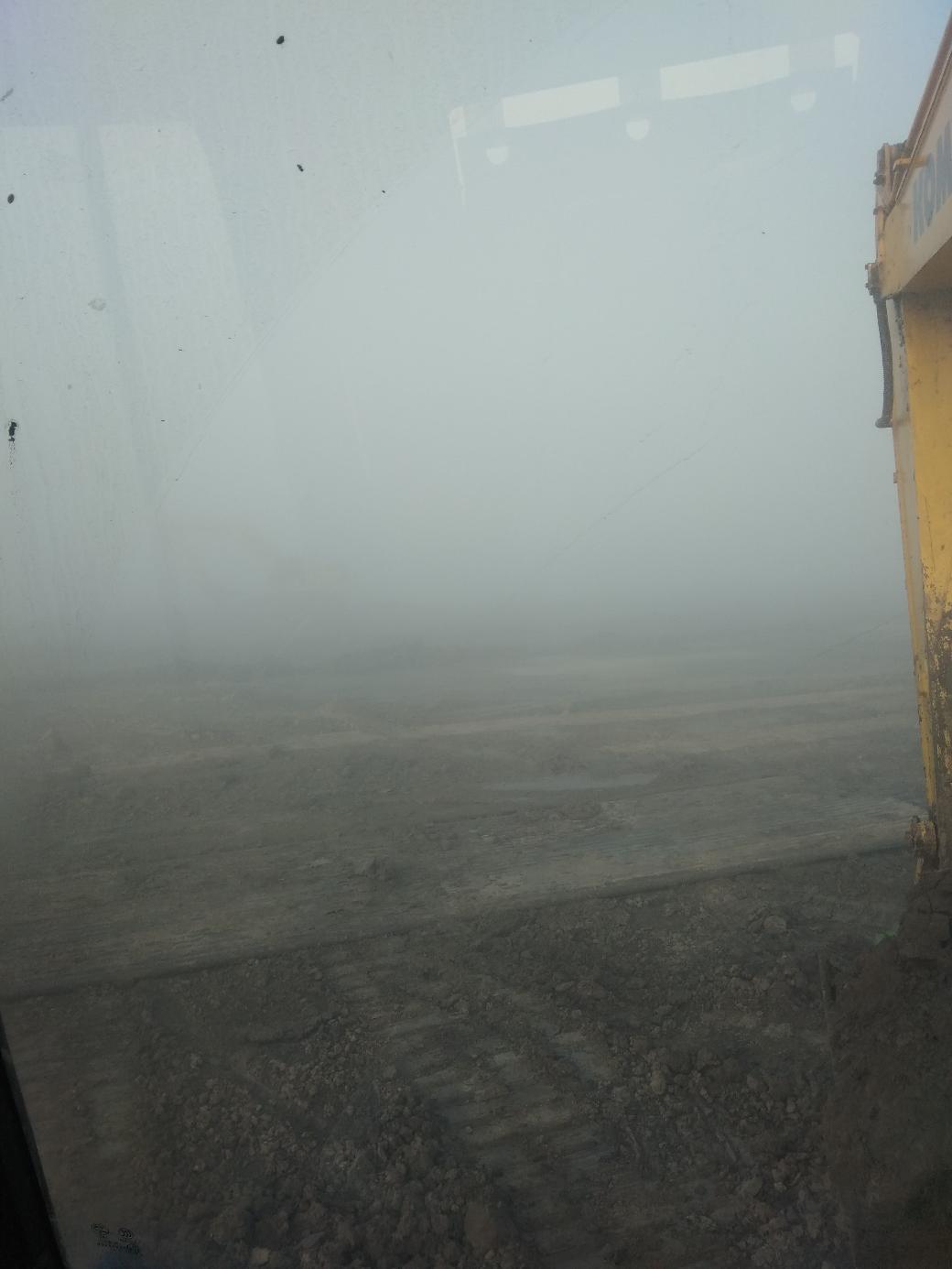 大雾!等车来