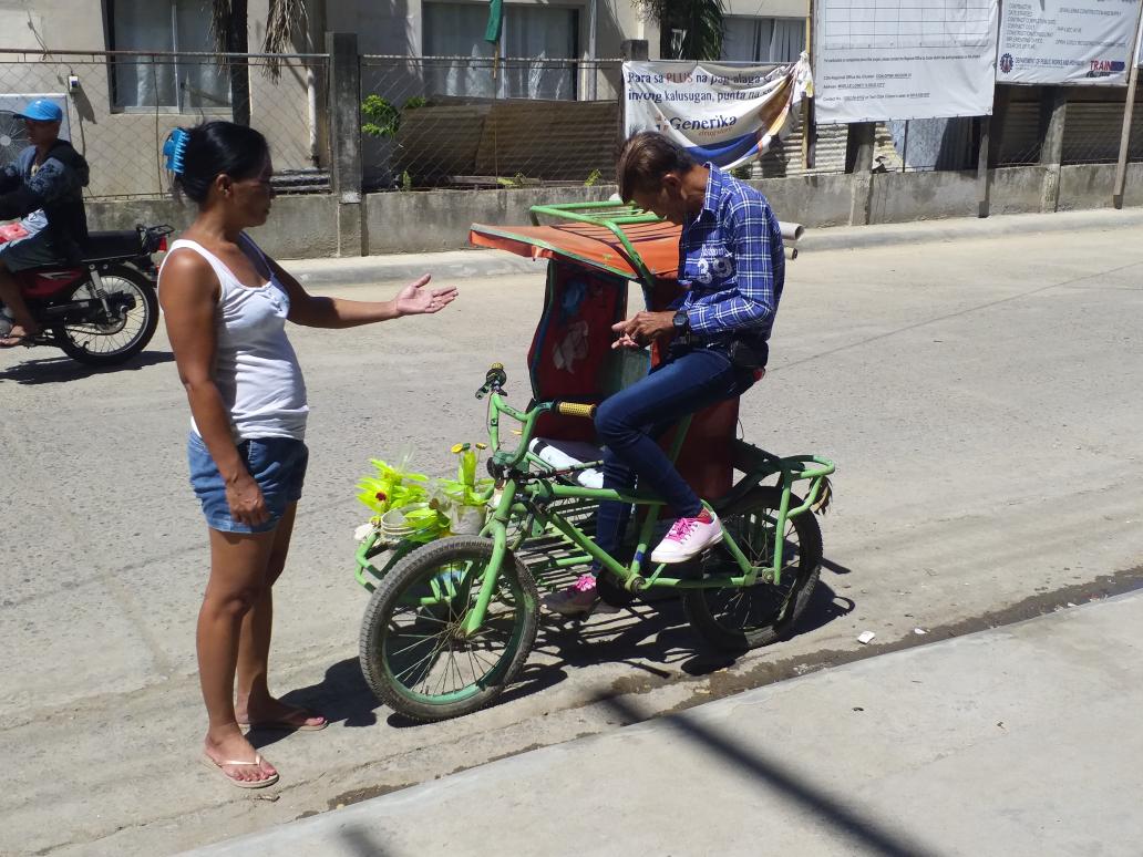 菲律宾人力三轮车
