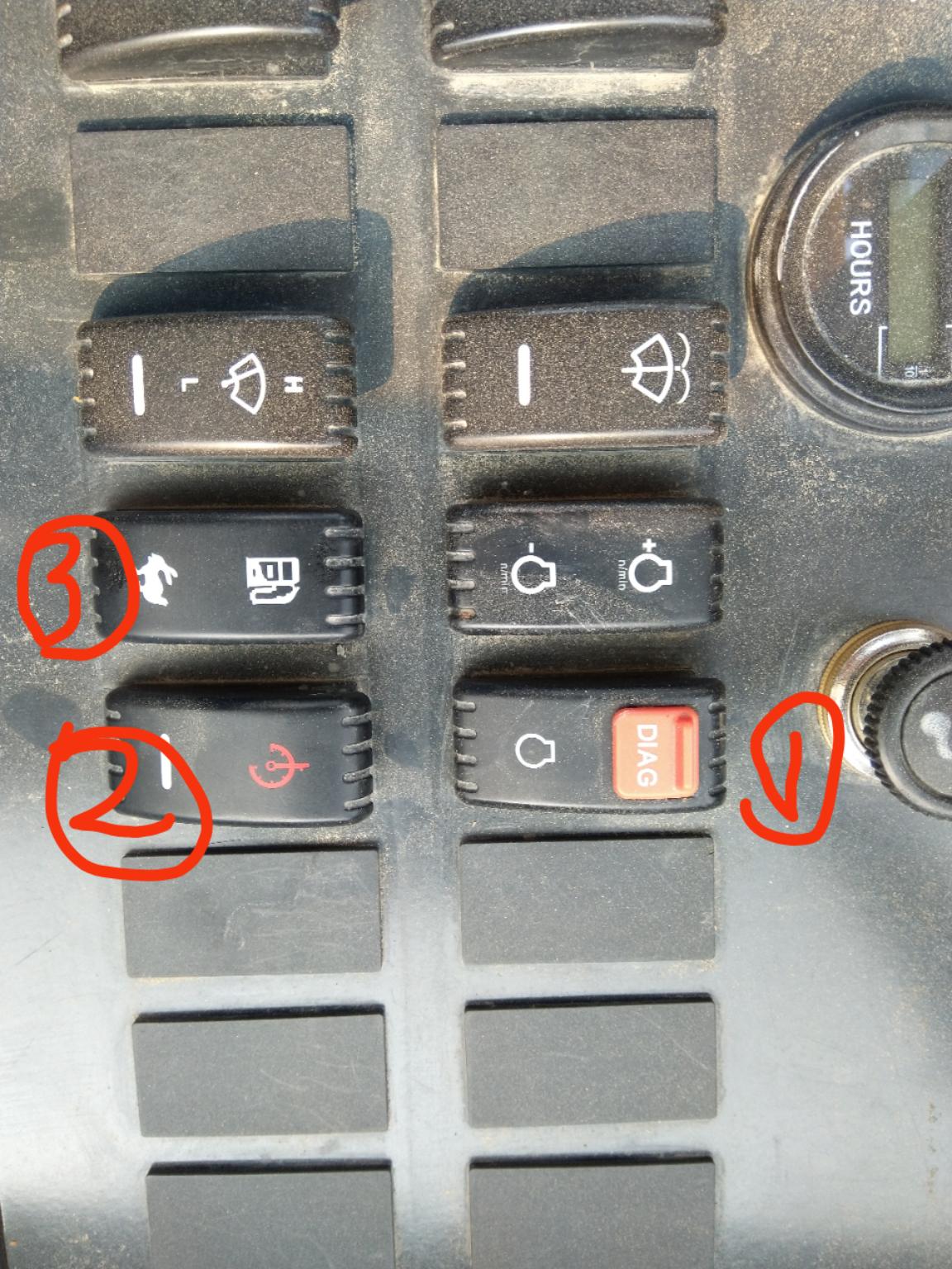 关于855N的按键