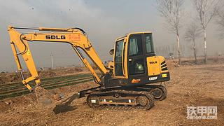 我的新同伴,喜提临工65挖掘机!