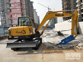 2019新提临工65挖机,用了一个月了