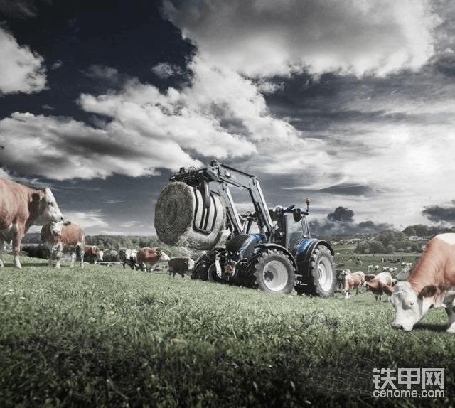 海外靓机:唯美的智能拖拉机