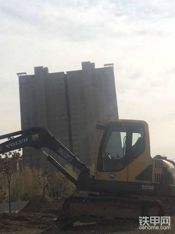 中煤集团前面的六千套,沃尔沃施工留念!