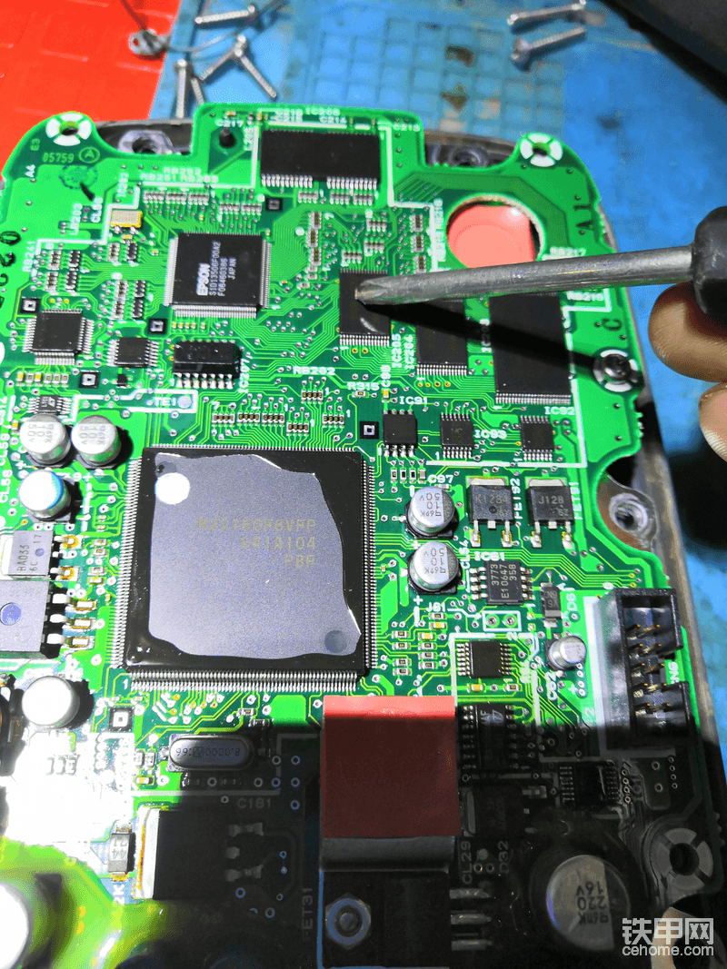 要更换的电子元件。同样的问题。不同样的解决方案。