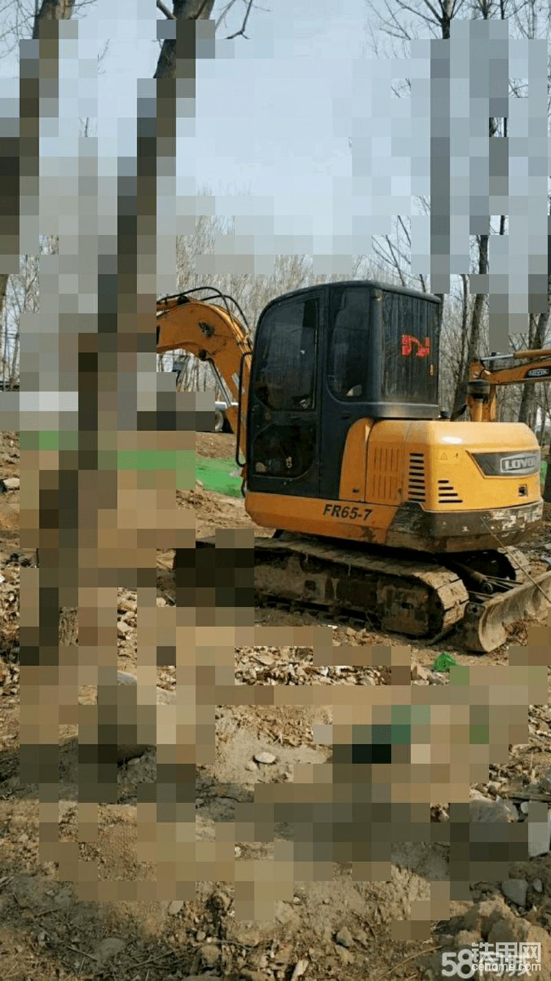 出售挖掘機一臺雷沃65-帖子圖片